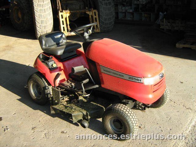 vendre saint andr tracteur pelouse massey ferguson 2514h annonce 163062 petites. Black Bedroom Furniture Sets. Home Design Ideas